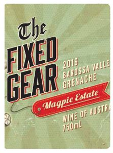Magpie Estate 2016 The Fixed Gear Grenache