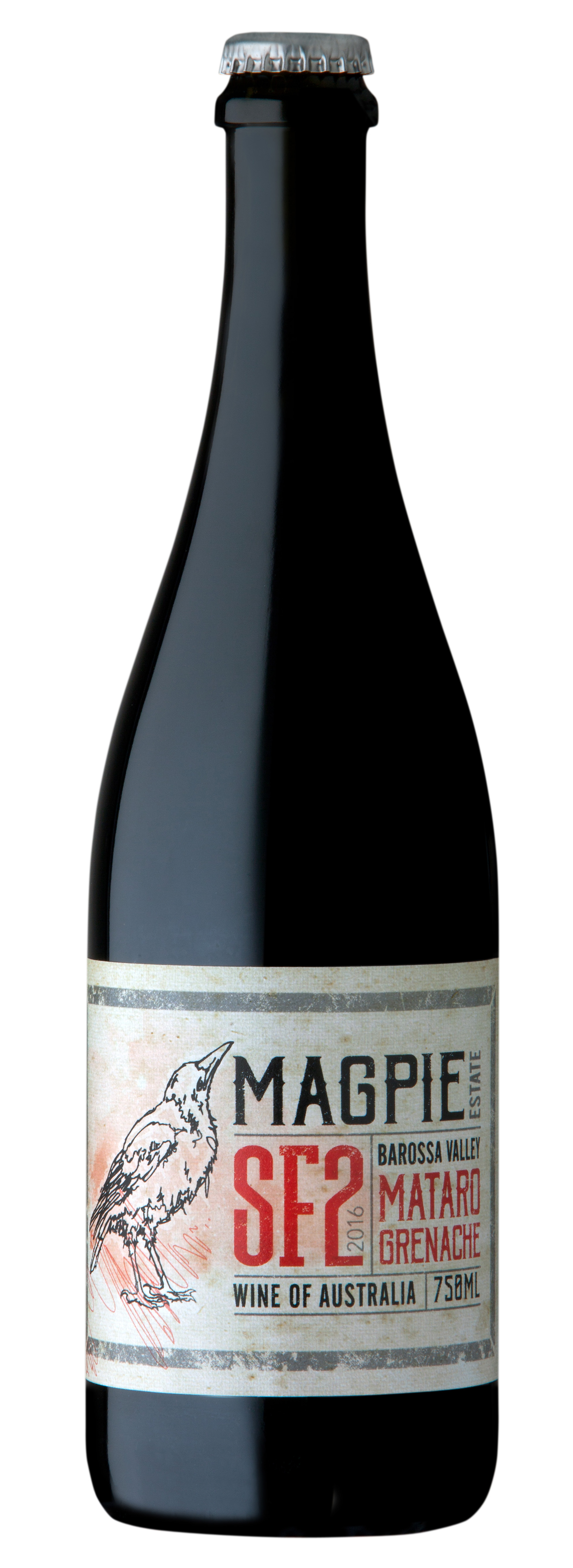 2016 Magpie Estate SF2 Mataro Grenache